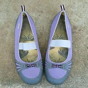 Ahnu lavender slip-on loafer 10